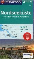 Kompass WK723 Nordseeküste von Hamburg bis Dänemark