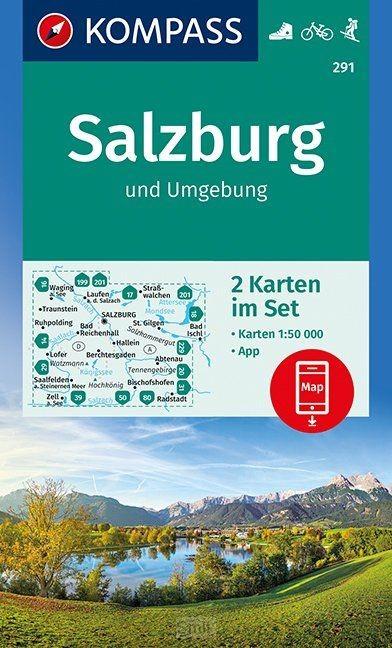 Salzburg und Umgebung 1 : 50 000