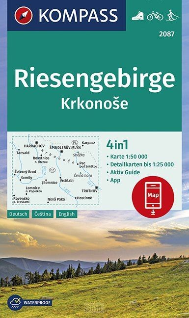 Riesengebirge, Krkonose 1:50 000