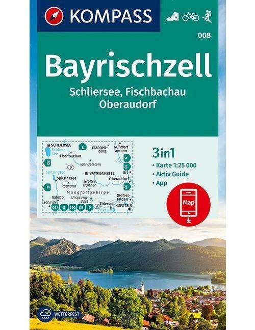 Kompass WK008 Bayrischzell, Schliersee, Fischbachau
