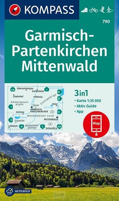 Kompass WK790 Garmisch Partenkirchen