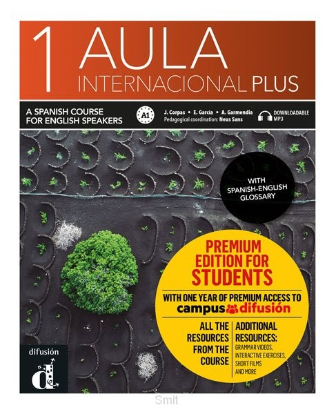 Aula Internacional Plus 1 Libro del alumno English version Premium