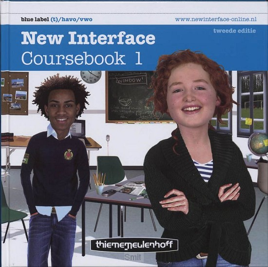 1 Vmbo-t/havo/vwo Blue label / New Interface / Coursebook