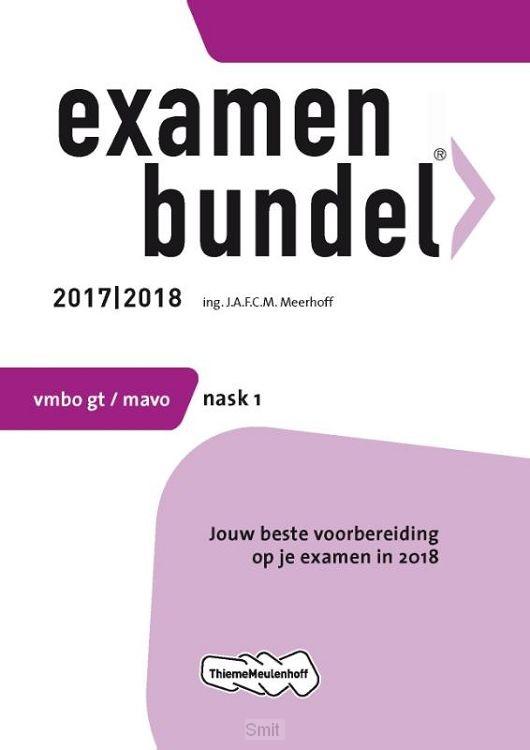 Mbo gt/mavo / Examenbundel NaSk1 / 2017/2018