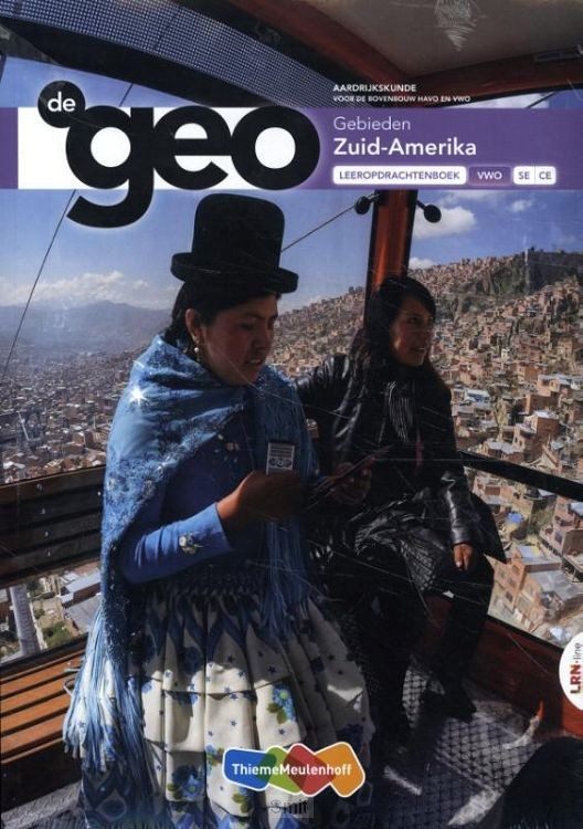 De Geo LRN-line online + boek 6 vwo