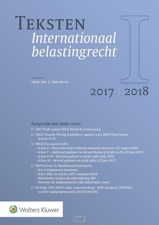 Teksten Internationaal belastingrecht 2017/2018