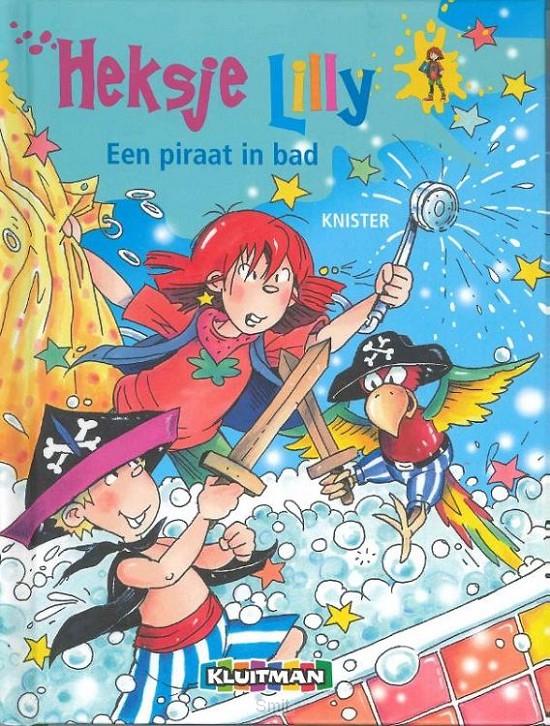 Heksje lilly piraat in bad