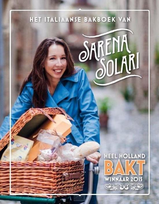Italiaanse bakboek van sarena solari