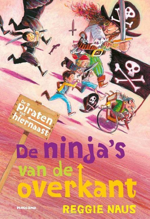 De piraten van Hiernaast: De ninja's van de overkant