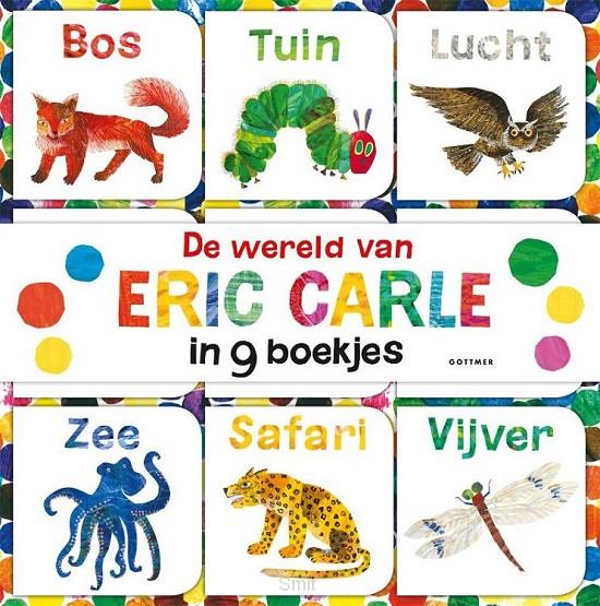 Wereld van eric carle in 9 boekjes