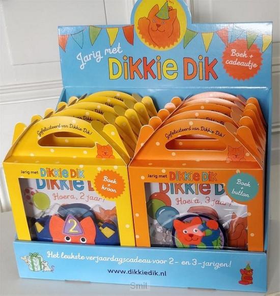 Jarig met Dikkie Dik - display 2 x 5 exx