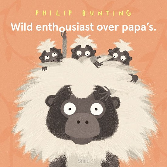 Wild enthousiast over papa's