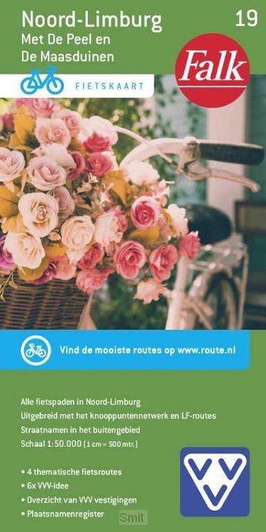 Fietskaart 19, Noord Limburg met de Peel