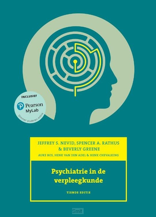 Psychiatrie in de verpleegkunde, 10e editie met MyLab NL toegangscode