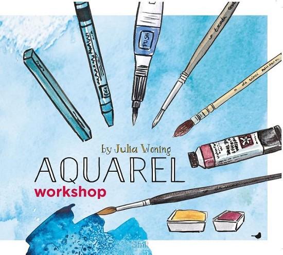 Aquarelworkshop by julia woning