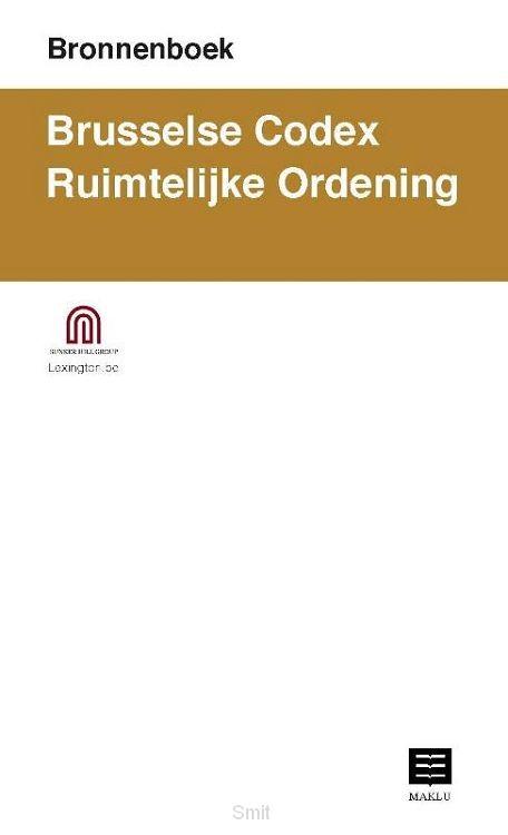 Bronnenboek. Brusselse Codex Ruimtelijke Ordening