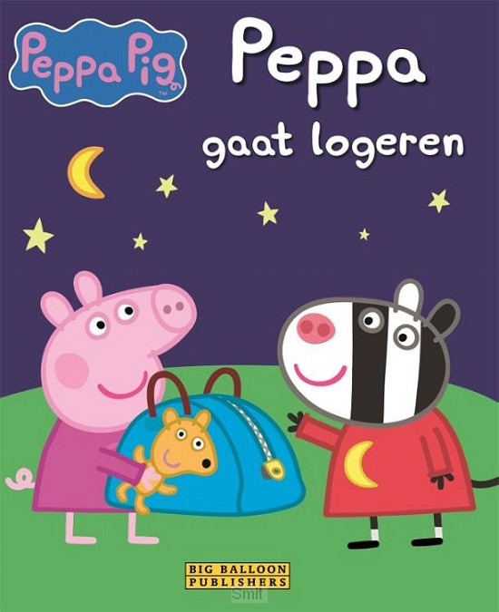 Peppa gaat logeren