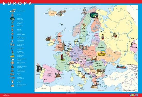 SET TOPOPOSTER EUROPA (10V)