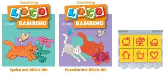 Loco Bambino Dikkie Dik (doos + 2 boekjes)
