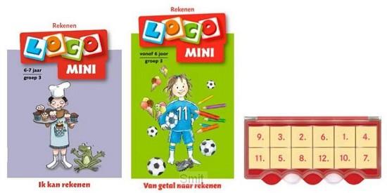 Loco Mini ik kan rekenen 6+ (doos + 2 boekjes)