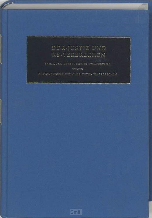 DDR-Justiz und NS-Verbrechen / VI Die Verfahren Nr. 1264 - 1326 des Jahres 1950