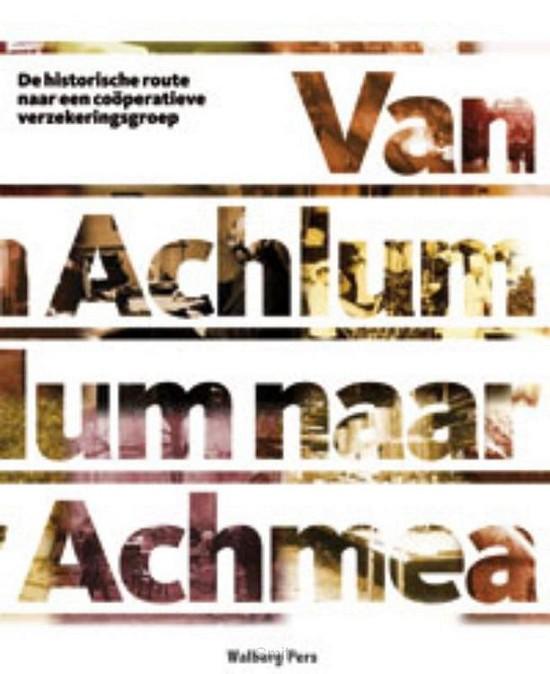 Van Achlum naar Achmea