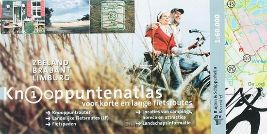 Knooppuntenatlas zuid-nederland