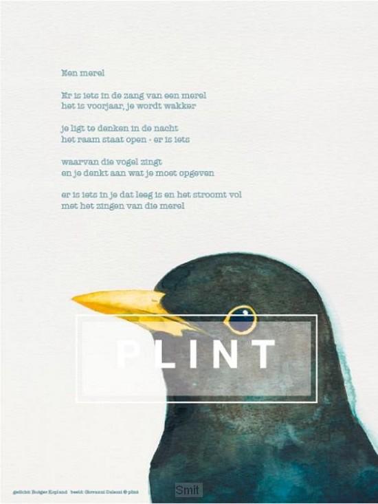 10 x A4 poster 'Merel' Rutger Kopland