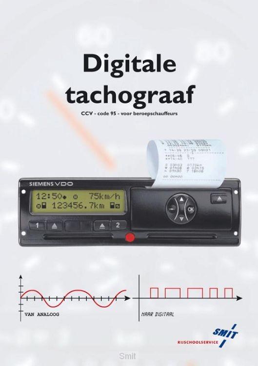 Digitale tachograaf / Code vijf en negentig chauffeursopleidingen