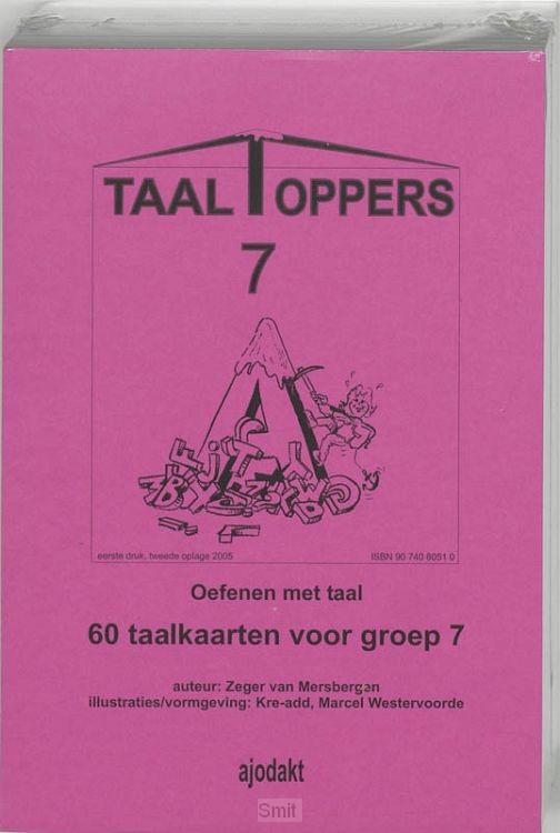 Taaltoppers set 5 ex / Groep 7