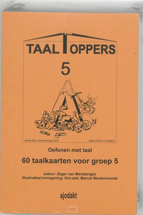 Taaltoppers set 5 ex / Groep 5