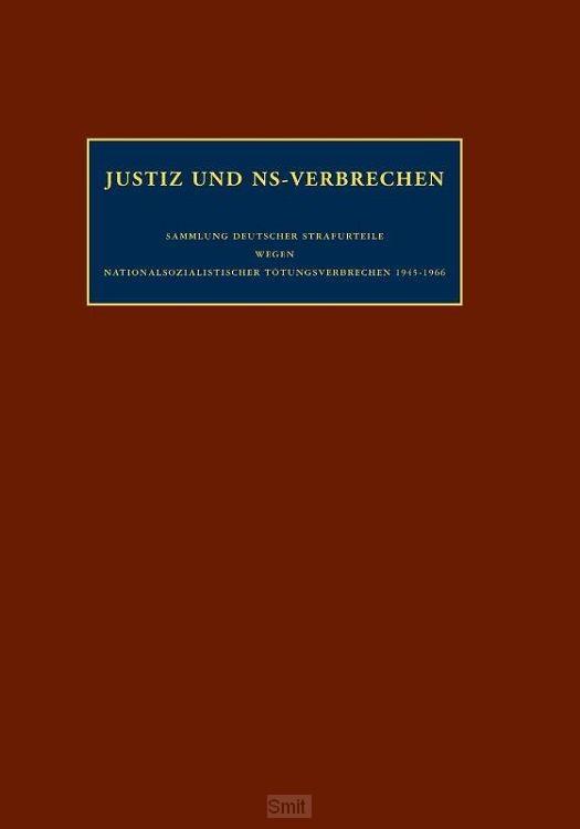 Justiz und ns-verbrechen / Band 12