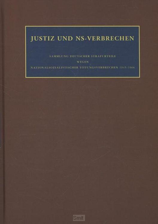 Justiz und ns-verbrechen / Band 22
