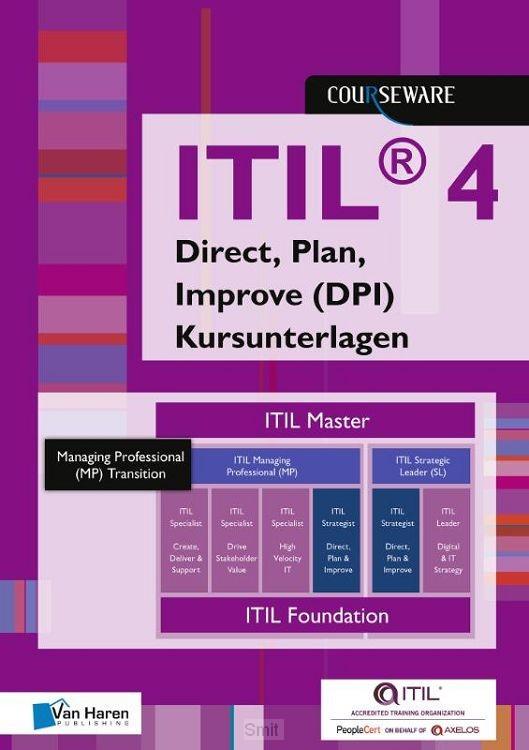 ITIL® 4 Direct, Plan, Improve (DPI) Kursunterlagen - Deutsch