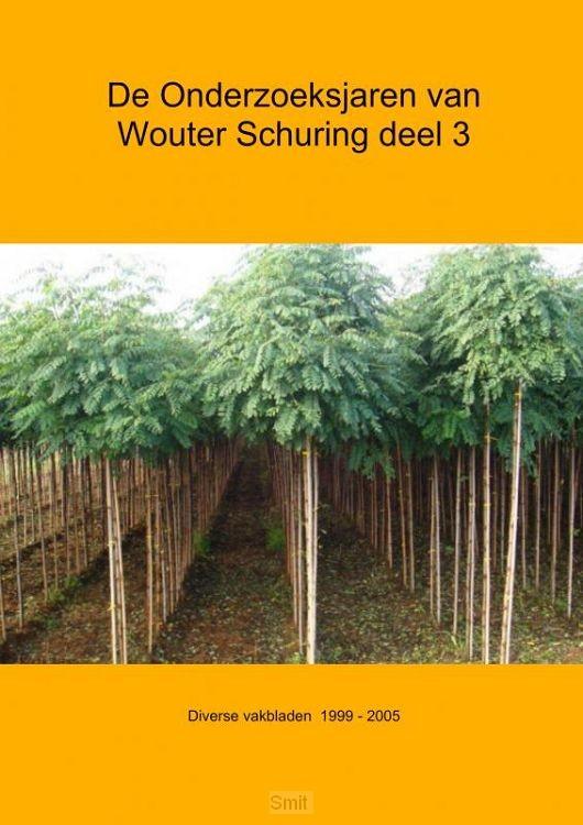 De onderzoeksjaren van Wouter Schuring / III Diverse vakbladen 1996-2005