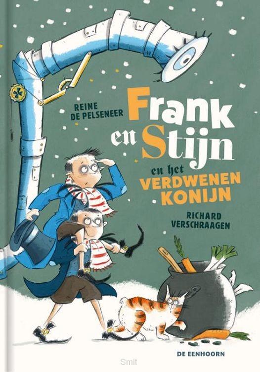 Frank en Stijn en het verdwenen konijn