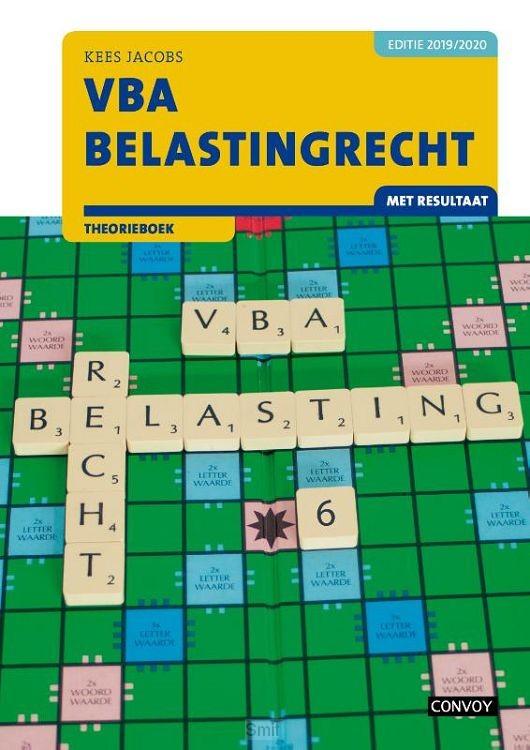 2019-2020 / VBA Belastingrecht met resultaat / Theorieboek