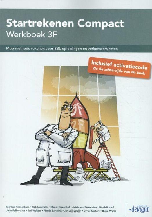 3F / Startrekenen Compact / Werkboek