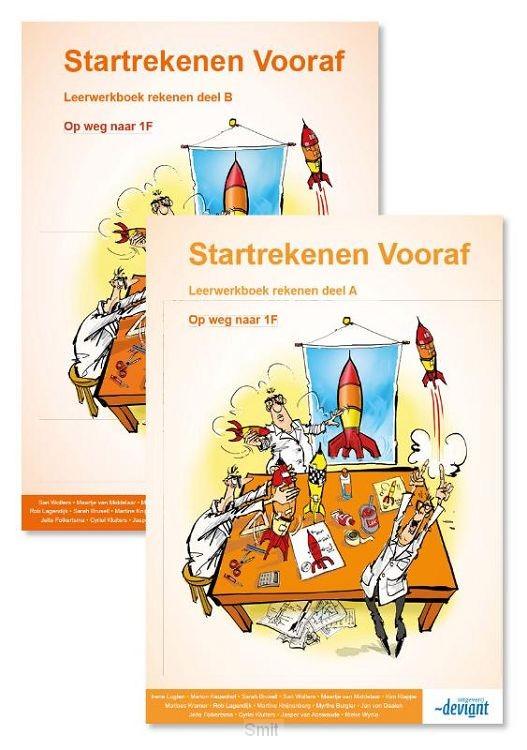 Deel A+B Extra oefening op weg naar 1F / Startrekenen Vervolg / leerwerkboek