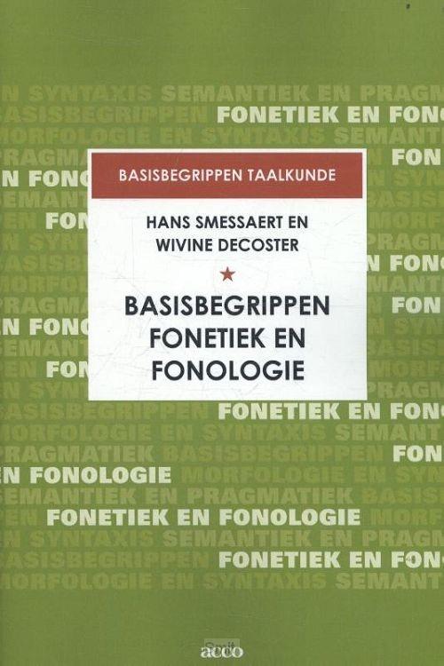 Basisbegrippen fonetiek en fonologie