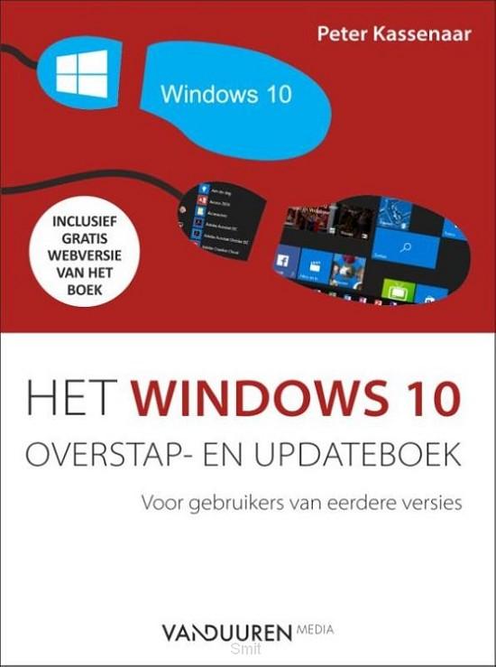 Het Windows 10 overstap- en updateboek