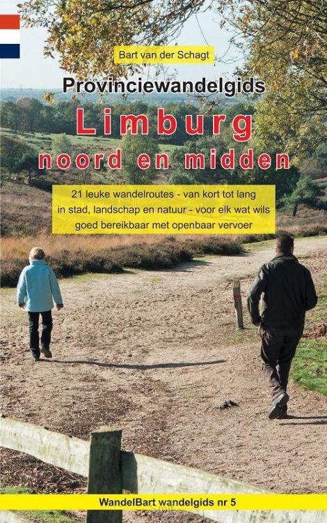 Provinciewandelgids Limburg noord en midden