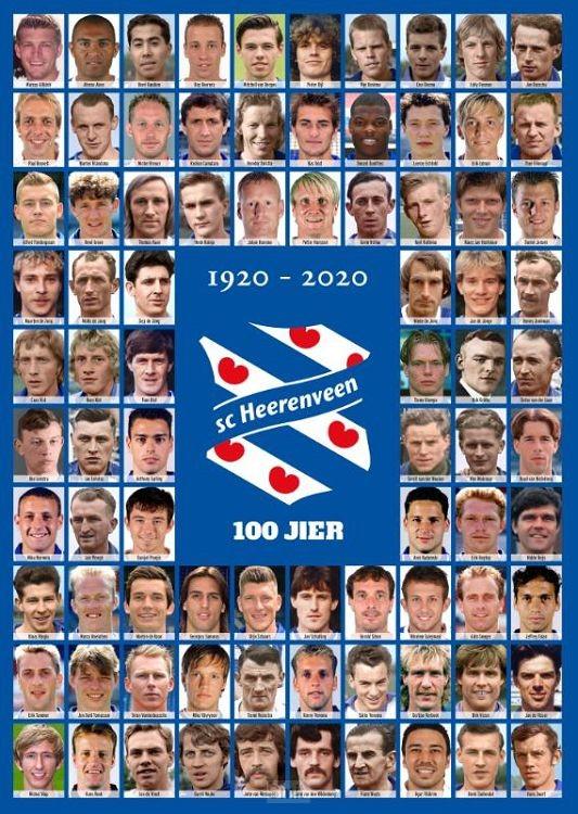 100 jaar SC Heerenveen