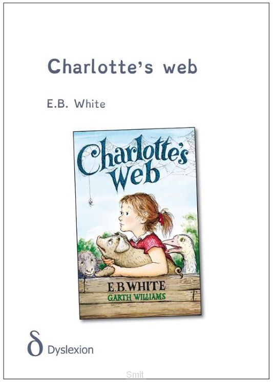Charlotte's web - dyslexie uitgave