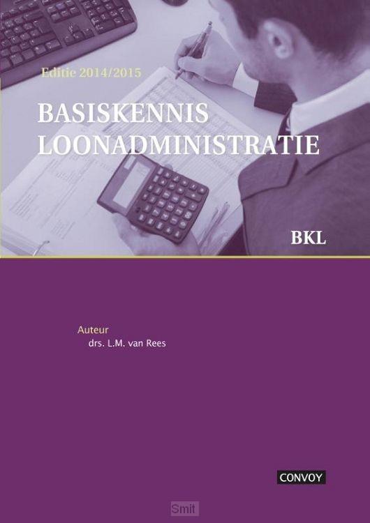 Basiskennis loonadministratie / 2014/2015
