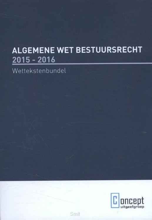 Algemene Wet Bestuursrecht / 2015-2016