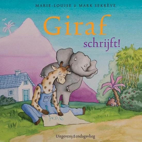 Giraf schrijft!