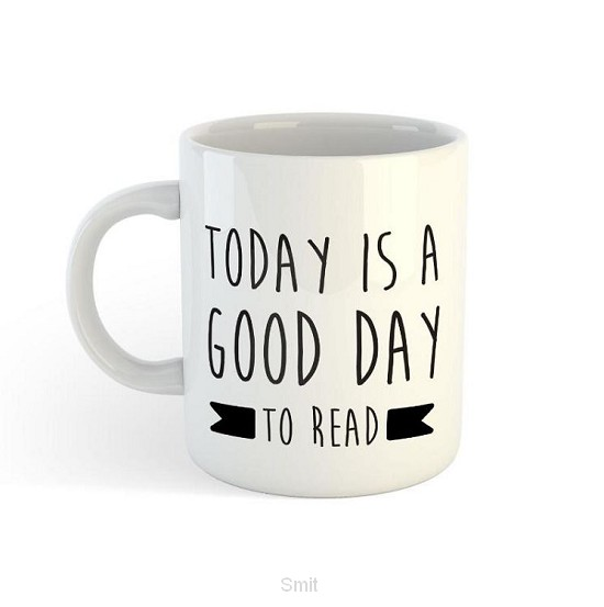 Scelta mugs 8x today is a good day to read