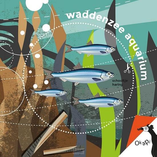 Waddenzeeaquarium (set van 5)