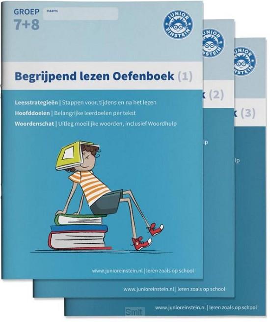Begrijpend lezen Oefenboeken / 1,2 en 3